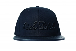 RITCH BITCH snapback black cap